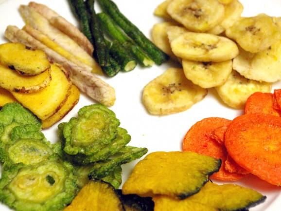 野菜チップスのカロリーが意外と高くなってしまう7つの理由