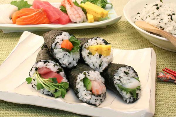 手巻き寿司のカロリーは?にぎり寿司との徹底比較☆