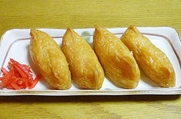 いなり寿司のカロリー量は?7つのにぎりと比べてみました