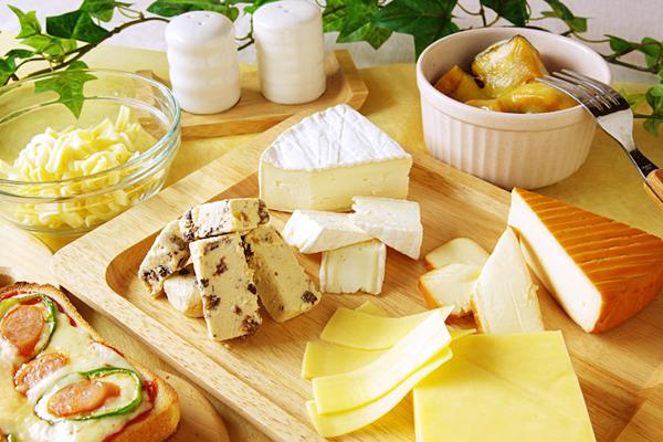 チーズでカロリーの少ないものを選んでダイエットに活用
