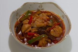 鶏肉と野菜のとまと煮