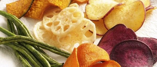 野菜チップスのカロリーを出来るだけ低くする食べ方のコツ